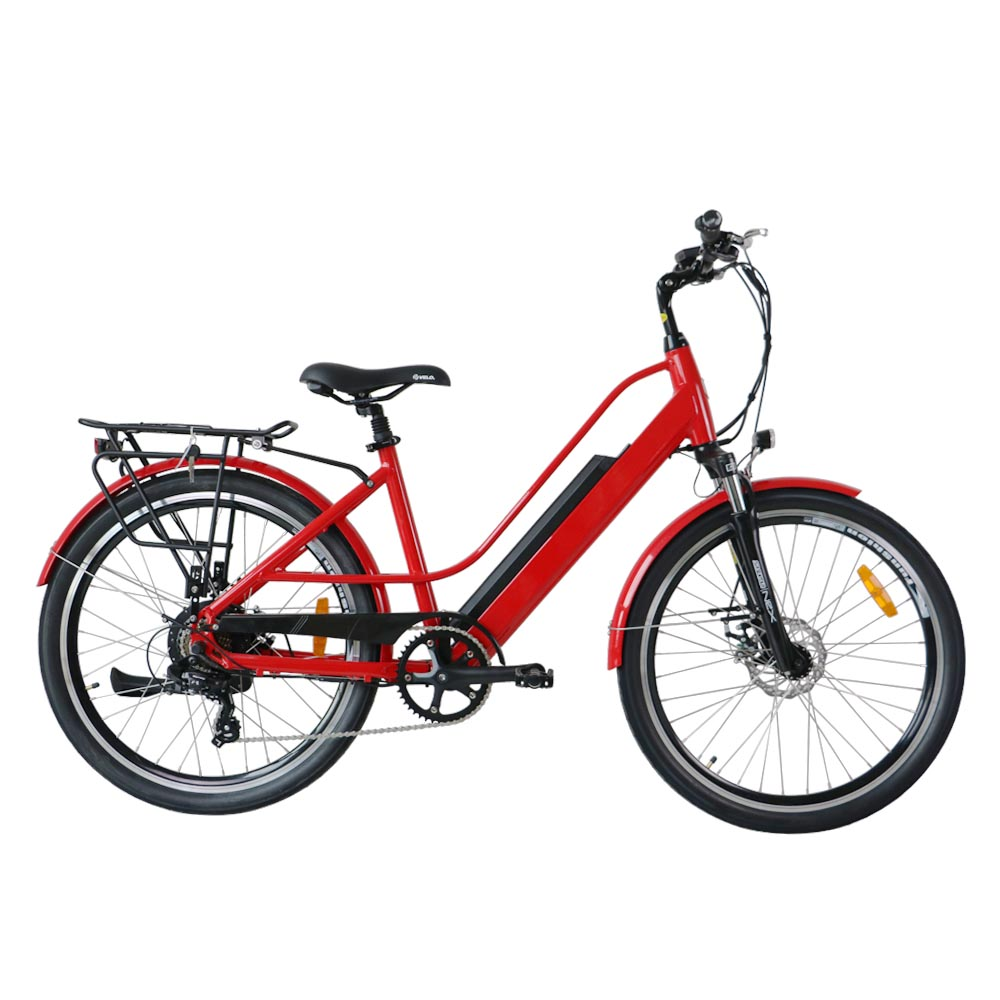 Electric Trekking Bike, Great Quality 7 Speeds with HIGH TORQUE Bafang Hub Motor