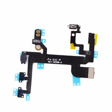 ATTEN for Iphonese Replacement Parts Repair Part  for Iphone SE Power Button on/off Switch Key Flex Cable