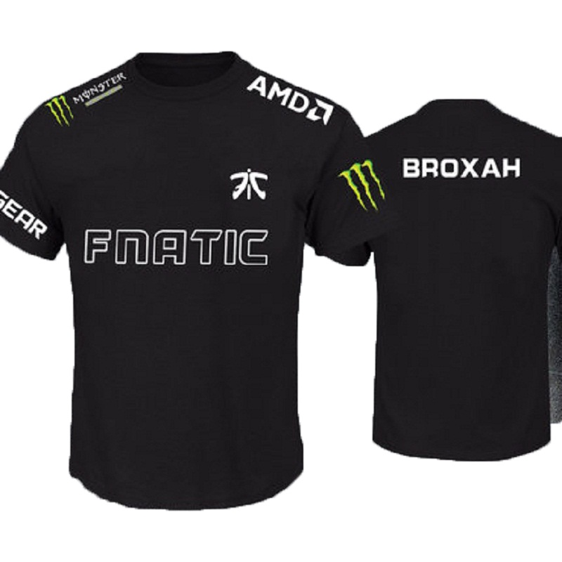 super popular run shoes new arrive US $18.68 |LOL Champion FN Game Team Fnatic Jersey T Shirt O Neck casual  Tees Game Athletics men women Fnatic T Shirt-in T-Shirts from Men's  Clothing ...
