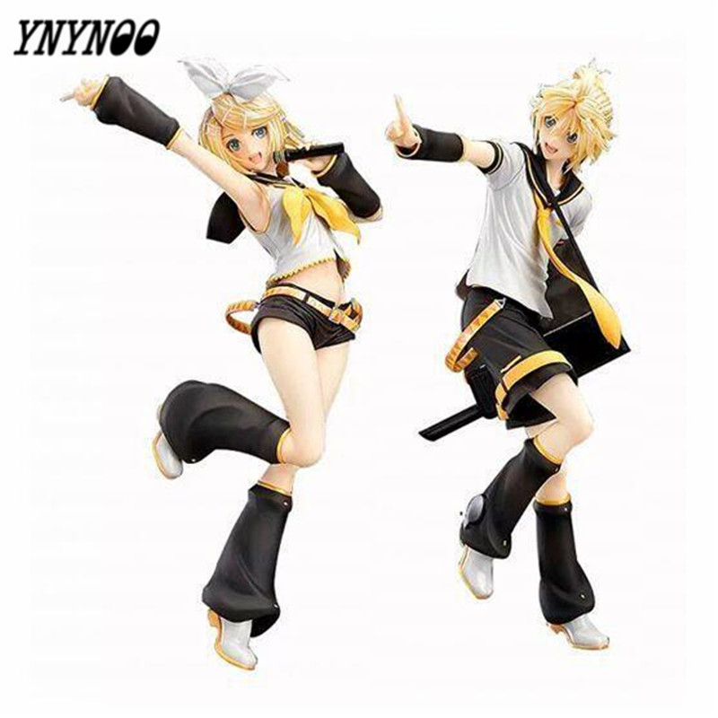 YNYNOO Free Shipping 9 Hatsune Miku Kagamine Rin & Kagamine Len Boxed 23cm PVC Action Figure Collection Model Doll Toy Gift 220v 120w bk2000 high frequency soldering station lead free solder station high frequency welder for sale