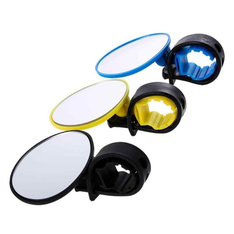 3 Warna Universal Adjustable 360 Derajat Memutar Bersepeda Sepeda Stang Spion Sepeda Aman Kaca Spion Bicicleta