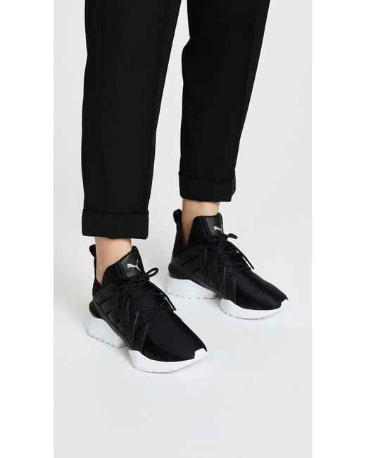 a756cdd1d52f ... PUMA Women s Muse Echo Satin EP Sneakers Badminton shoes Size 35- ...