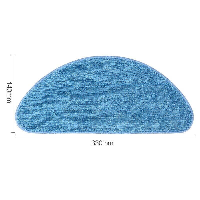 Микрофибра зачистке ткань высокой эффективность уборки дома для XL580 CEN540 CEN546 робот Запчасти для пылесоса для дома