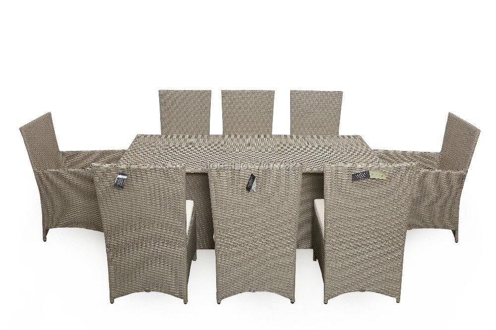nuevo estilo sgb mesa y sillas de mimbre rota del pe al aire