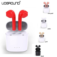New Mini I7s TWS Bluetooth Earphone Wireless Stereo Double Ear Headsets With Charging Box For Iphone