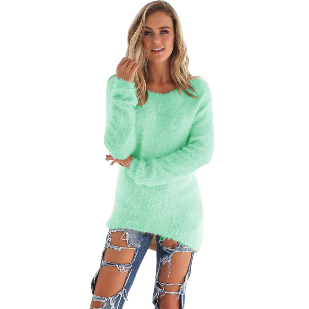 Ladies Turtle Neck Knitted Sweater Ladies Warm Cropped Jumper Pullover Top LG