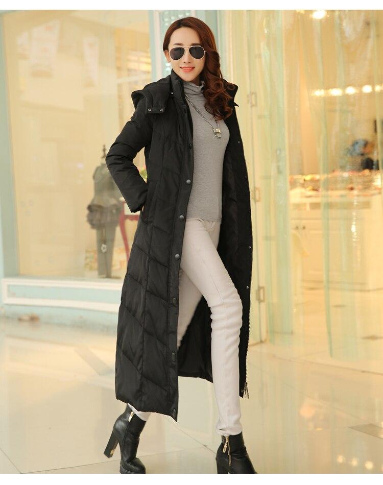 2018 Dames 2xl Duvet Pour Femme Vêtements Veste Femmes Maxi Mode Canard Bleu Rouge Longue Manteau Noir Parkas Xxxxl De 3xl 4xl D'hiver Hr4Hv7nfq