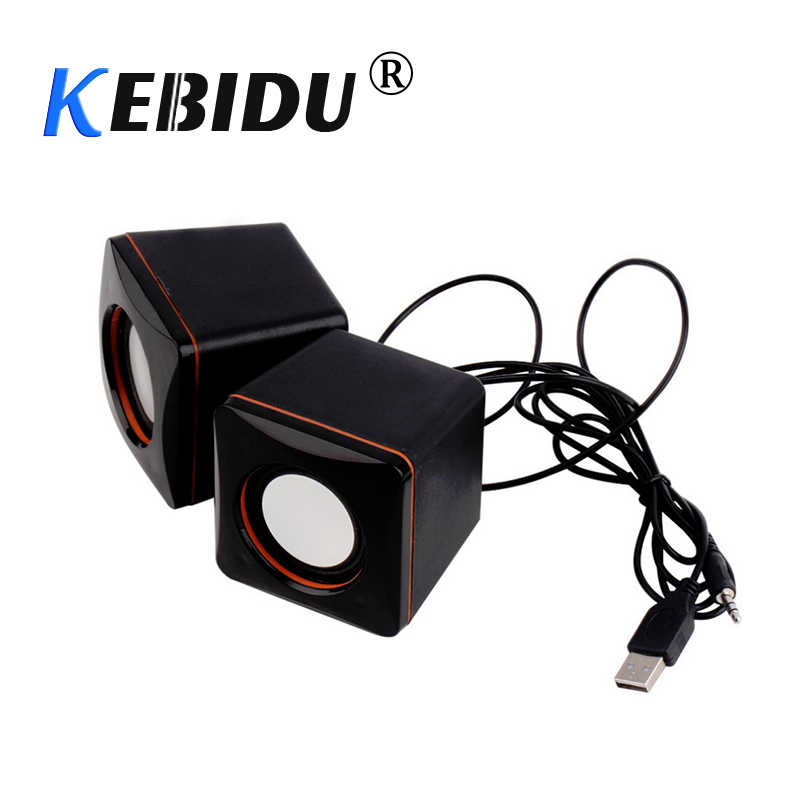 Kebidu DC 5 V Mini Draagbare USB Audio Muziekspeler Speaker Voor MP3 MP4 voor Laptop PC Computer