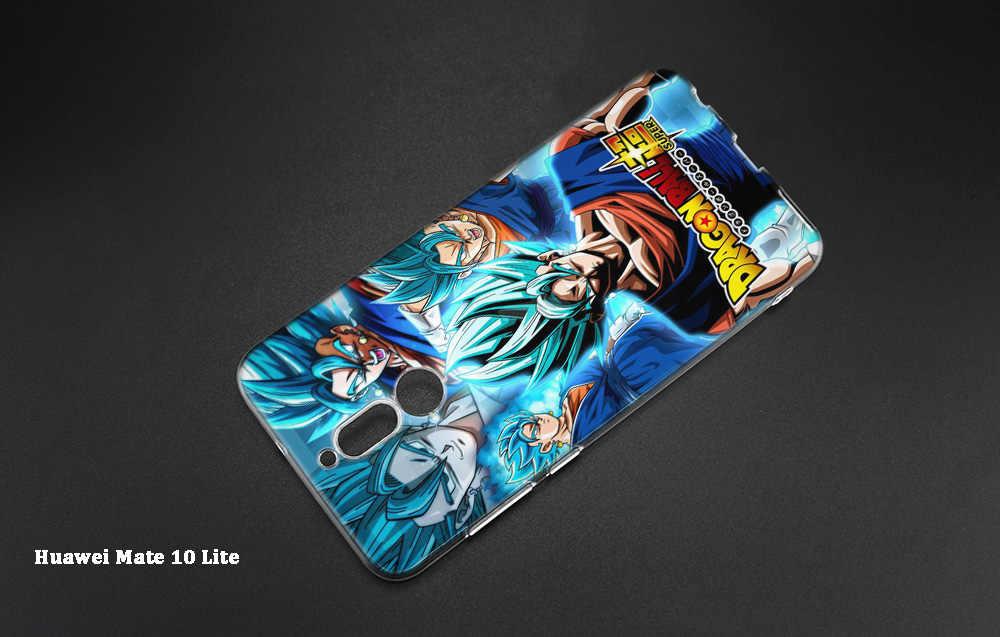 Soft Case Cover for Huawei Mate 20 10 P30 P20 P10 Lite Pro P Smart 2019 Nova 4 Dragon Ball Z Goku DragonBall Super Cartoon Case