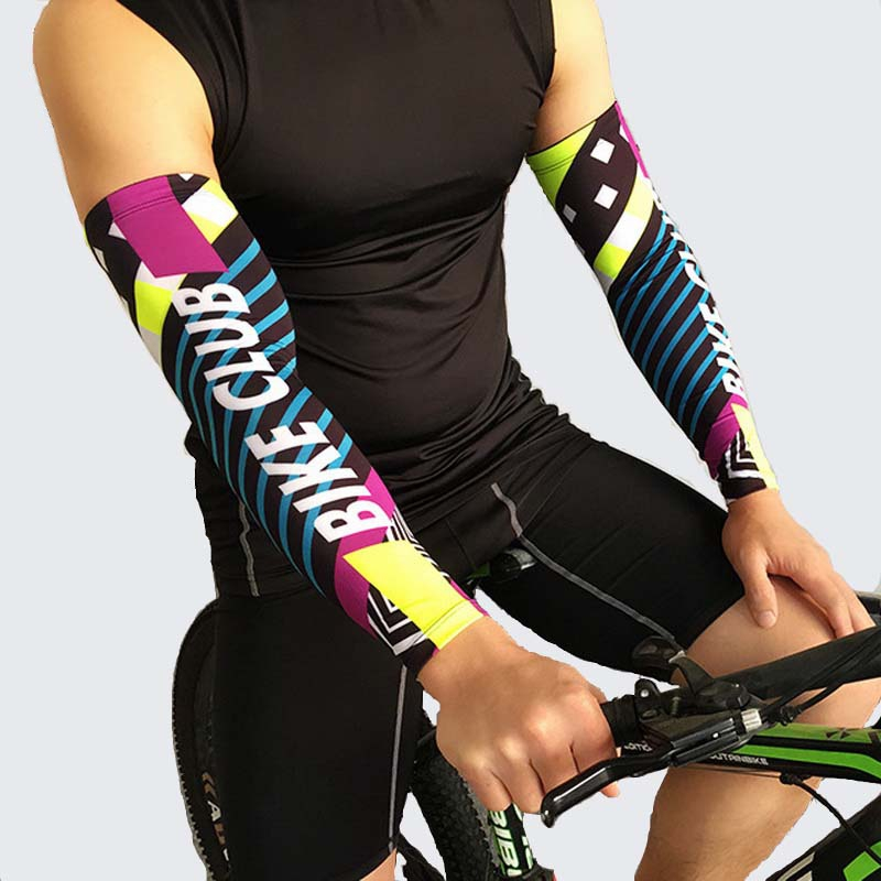 Arm Warmers Cover Sun Cuff Sleeve Cycling Bike Bicycle Protection 2 Pcs//lot One
