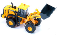 Rare Alloy Toy Model 1:40 Scale HYUNDAI HL770 9 Wheel Loader Engineering Machinery Diecast Toy Model For Collection,Decoration