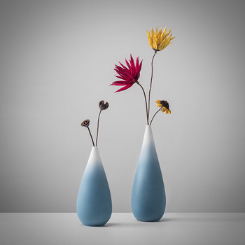 Minimalist ideas Ceramic vase Ornaments Home Decorations Flower arrangement in the living room Table setting