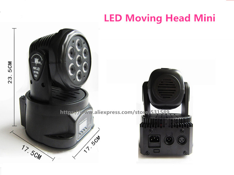2PCS DJ moving head lights led wash mini 7/12 channels rgbw quad with advanced 14 channels  KTV