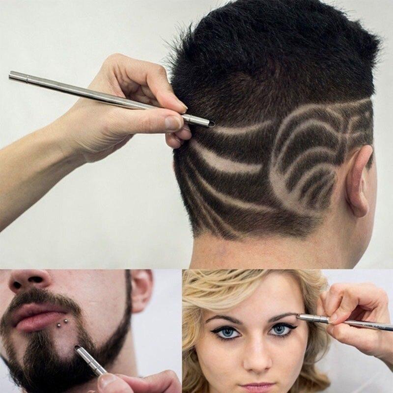 2020 Hairstyle Design Pen Razor Hair Tattoo Trim Mustache