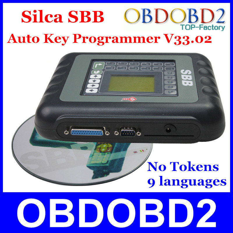 ФОТО Newest SBB Silca Key Programmer V33.02 SBB Immobilizer Key Pro Maker Transponder For Multi Brand Cars No Need Tokens 9 Languages