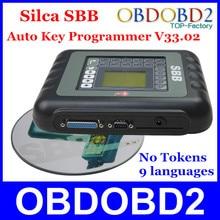 Recentes SBB Programador Chave V33.02 Silca SBB Imobilizador Chave Pro fabricante do Transponder Para Carros Multimarcas No Need Tokens 9 línguas