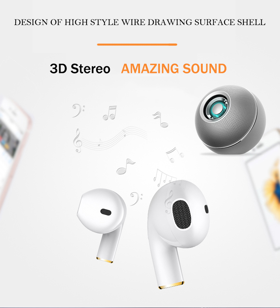 YODELI i8x Bluetooth Earphone Mini Wireless Bluetooth Headset In-Ear Earbuds With Mic For Hands-Free For iPhone X 7 8 Plus 6S 6 (10)