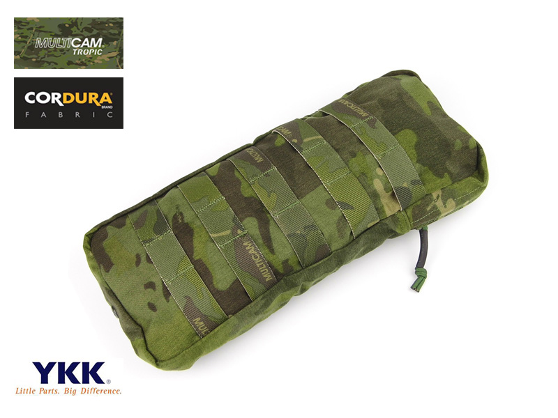 Multicam Tropic CP style 330 Hydro Pouch MOLLE Hydration Carrier Pouch+Free shipping(XTC050902) emersongear lbt2649b hydration carrier for 1961ar molle backpack military tactical bags hunting bag multicam tropic arid black