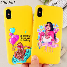 Classy Paris Girl Phone Case for IPhone X XS MAX XR 8 7 6s Plus Fashion Soft Silicone Fitted Mobile Cover Accessories