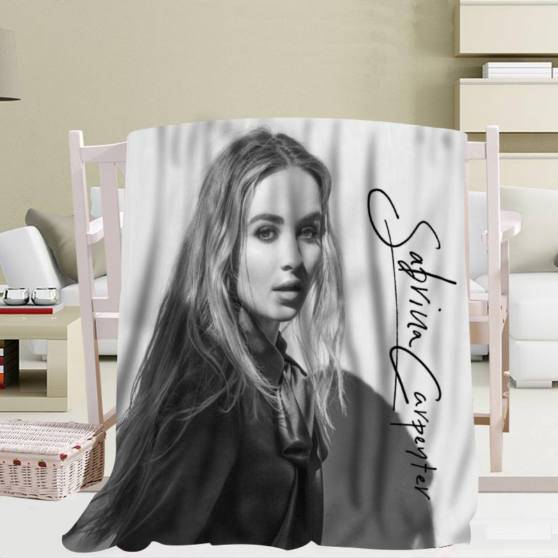 Fine Us 28 69 30 Off New Arrival Custom Sabrina Carpenter Blanket Sofa New Blanket Portable Soft Blanket Bed Plane Travel Adult Home Blanket In Blankets Gmtry Best Dining Table And Chair Ideas Images Gmtryco