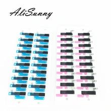 AliSunny 20 шт. динамик сетка клейкая наклейка для iPhone 7 8 Plus 8G 8 Plus 8X защита от пыли экран коснитесь клей запасные части