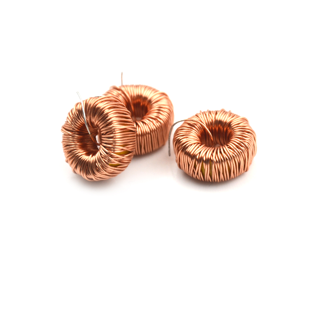 10PCS Naked 33UH 3A Toroid Inductor Winding Magnetic Inductance lm2596