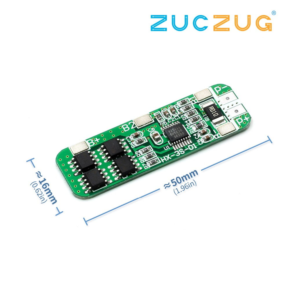Detail Feedback Questions About 3s 12v 18650 Lithium Battery Protection Circuit Module Pcm For 111v Liion Lipolymer Board 108v 126v Anti Overcharge Over Discharge 6a Current On