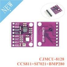 CCS811 + SI7021 + BMP280 חיישן מודול פחמן דו חמצני CO2 טמפרטורה ולחות גובה שלוש in one CJMCU 8128 מזג אוויר