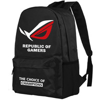Zshop Republic of Games Backpack The Choice of Champions Schoolbag High School Students Bookbag Daypack