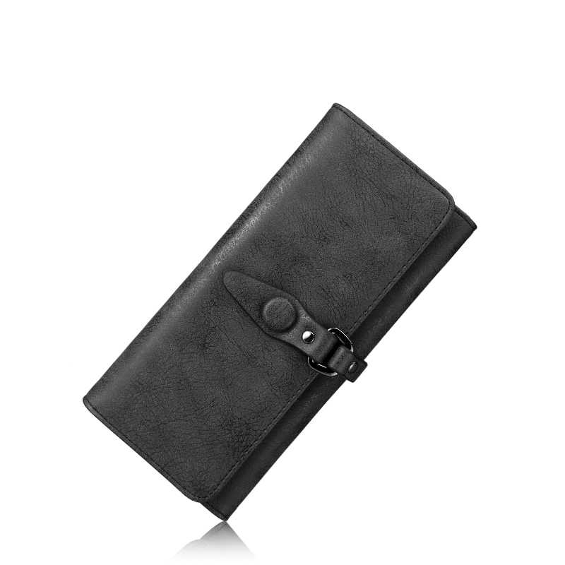 REALER Brand multi card women wallet new design artificial leather wallet female Stylish simplicity woman purse long Lady card