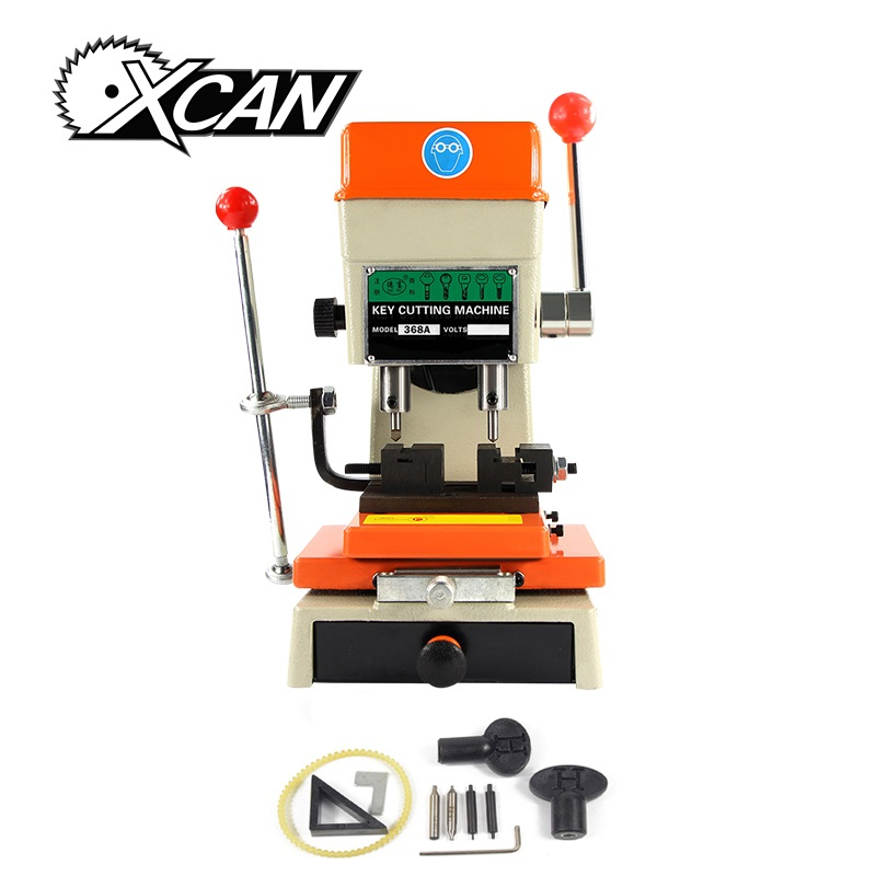 Free Shipping XCAN 368A Key Cutting Machine Ship from UK Key Duplicating Machine for Copy Car/Door Keys Locksmith Tools
