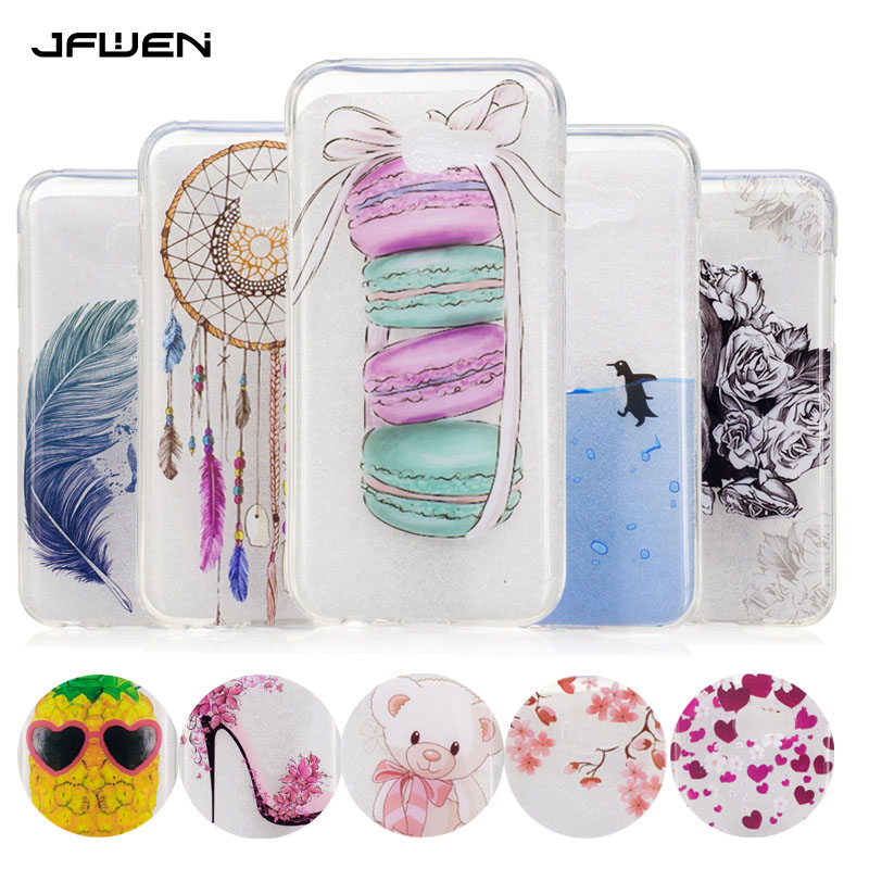 buy silicone cases for coque samsung galaxy a5 2017 case luxury soft tpu gel. Black Bedroom Furniture Sets. Home Design Ideas