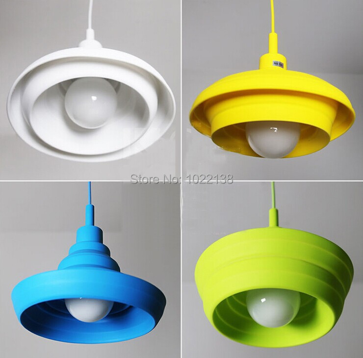2pcs e27 colorful diy silicone foldable pendant lamp holder led 2pcs e27 colorful diy silicone foldable pendant lamp holder led collapsible dining lamp chandelier base90cm cable cordbase in pendant lights from lights mozeypictures Gallery