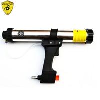 Borntun Pneumatic Air Glass Gel Glue Sealant Gun Caulking Cartridge Spraying Foaming Sealing Joint Seal Gap Filling Tool Machine