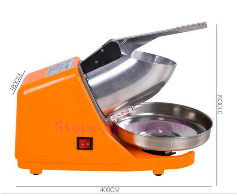 Hot SHIPULE Innovative Products 2018 Commercial Ice Shaver High Efficiency Snow Cone Maker Ice Crusher Machine