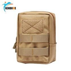 Hot Unisex Outdoor Tactical torba Molle 600D nylonowa sakiewka przenośne zewnętrzne etui na telefon komórkowy Travel Military Sports saszetka biodrowa