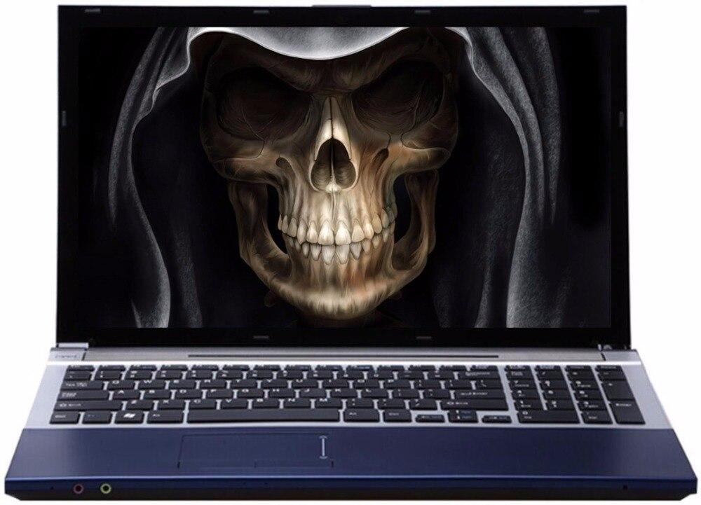 8G RAM+240G SSD+2000G HDD 15.61920*1080P Intel Core i7 Gaming Laptop Windows 10 Notebook with DVD RW Bluetooth 4000mAh Battery