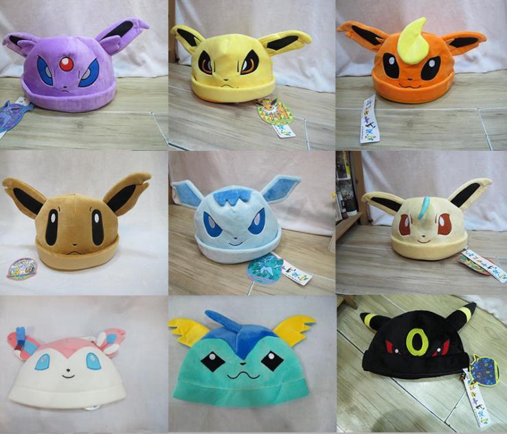 font-b-pokemon-b-font-go-eevee-umbreon-sylveon-snorlax-new-soft-plush-beanie-costume-hat-cap-gift-font-b-pokemon-b-font-plush-peluche-font-b-pokemon-b-font-pelucia-4829