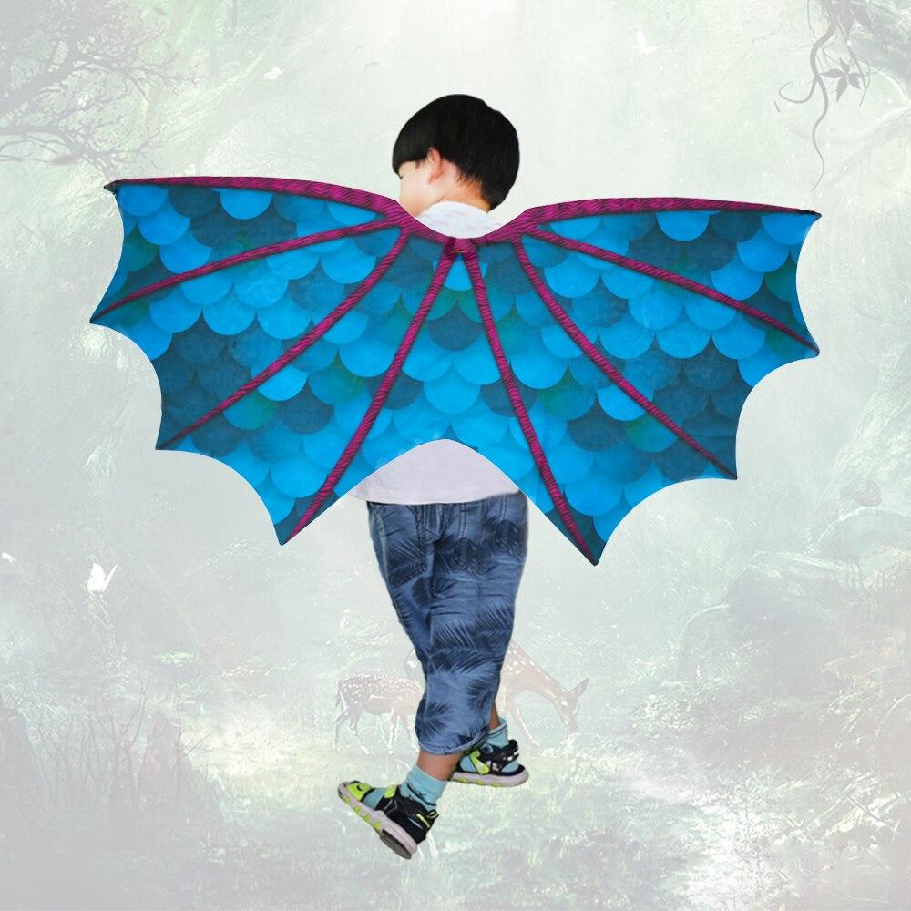 Speciale Dinosaurus Vleugel Kinderen Kostuum Voor Jongens Speelgoed Sjaal Licht Vleugels Sjaal Kinderen Nieuwe Jaar Kostuums Gift