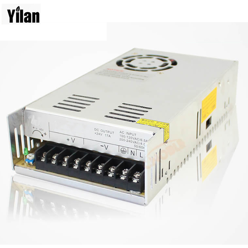 400W 27V 14.8A Single Output Switching power supply for LED SMPS AC to DC 1200w 48v adjustable 220v input single output switching power supply for led strip light ac to dc