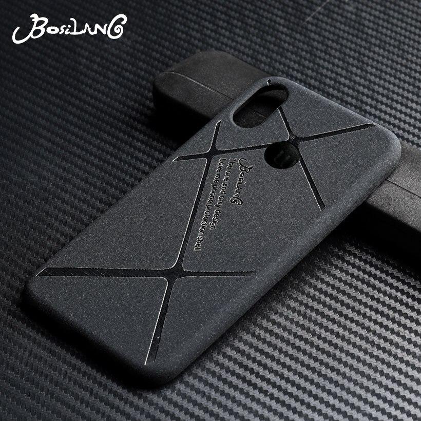 Bosilang Soft Case For Huawei P20 Lite Case Silicone Black Cases For Huawei Nova 3E Cover Coque For Huawei P20Lite Nova3E 5.84