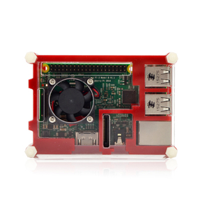 Image 2 - Raspberry Pi 9 layer Acry for Raspberry Pi 3 Raspberry Pi 2 B Raspberry Pi 3 B+ black red Sliced 9 Layers Case Box + Cooling Fan