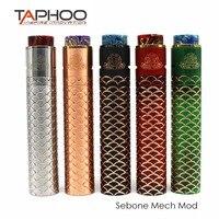 TAPHOO Vape Sebone Kit Sebone E Cigarette Mechanical Tube Mech Mod Kits Vaporizer Electronic Hookah Hot TAPHOO MOD