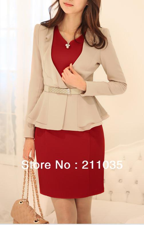 Women Spring V-neck Chiffon Patchwork Suit Woman Autumn Cardigan Slim Jacket Female Solid Outerwear Lady Ruched Thin Coat