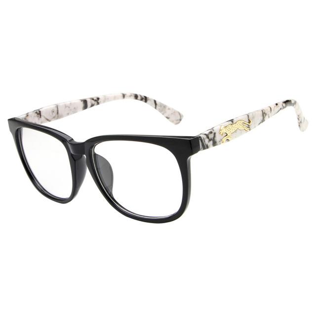 2017 Nuevo Diseño de marca marco gafas para miopía prescripción óptica Monturas de Gafas Gafas de grau anteojos al por mayor
