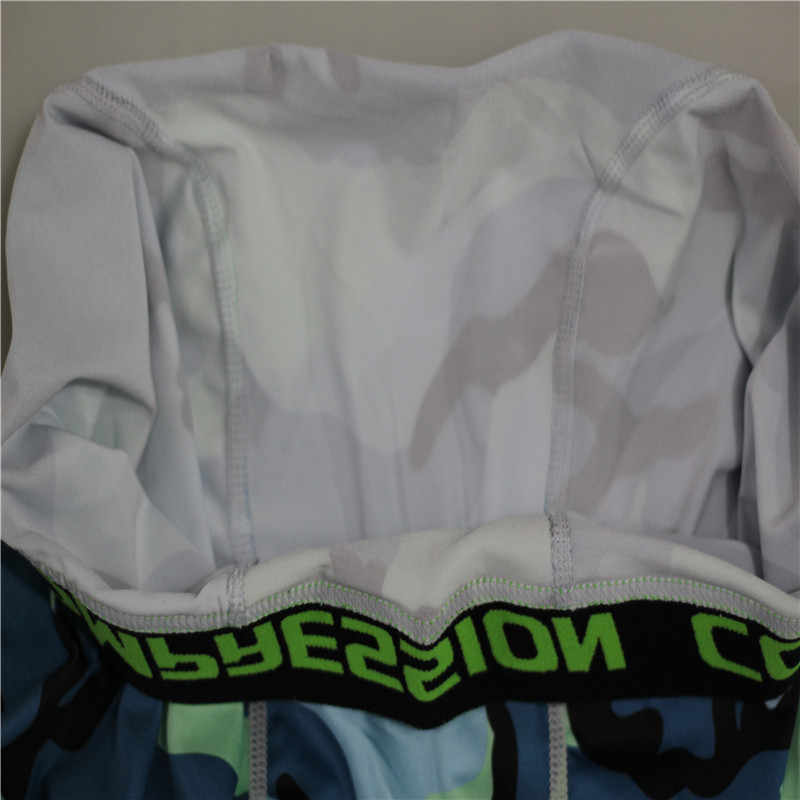 Trajes deportivos de secado rápido de camuflaje para hombre 3 piezas conjuntos de compresión para correr Joggers entrenamiento gimnasio chándal ropa deportiva
