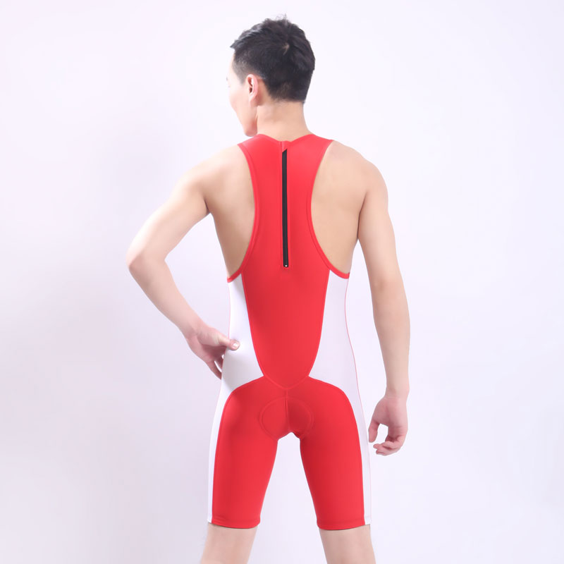 ФОТО  Professional Women and man Swimsuit One Piece Swimwear With Shorts Sports Racing Training Tights  Bodybuilding Bathing Suit