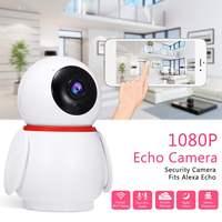 1080p Home Security Ip Wifi Camera Wifi Infrered Night Vision Alexa for Echo Cctv Mini