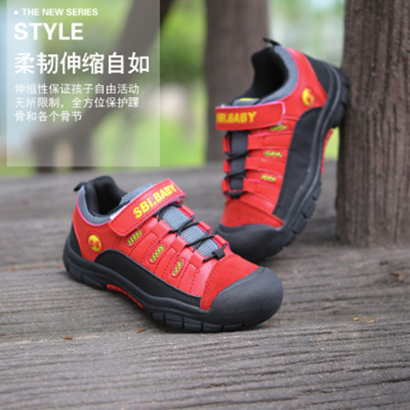 2016 New Hot Sell Fashion Comfortable Children Boys Shoes Kid Sport Breathable Winter & Autuam Hike Sport Running Sneakers Shoes