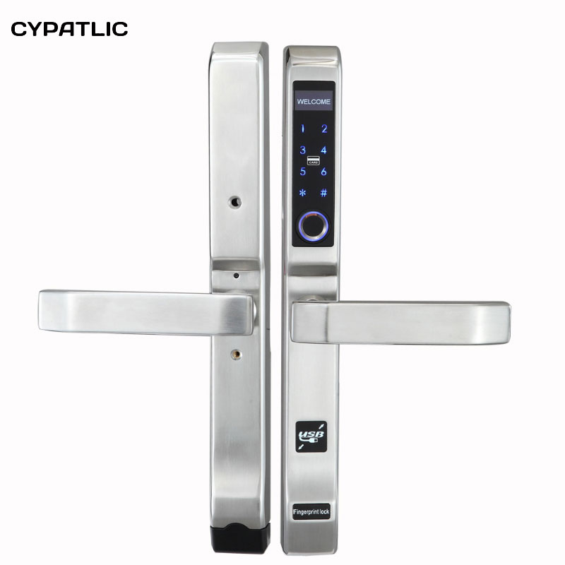 CYPATLIC JCF3372 Biometric Fingerprint Electronic Door Lock Smart Digital Door Lock For Home/Apartment